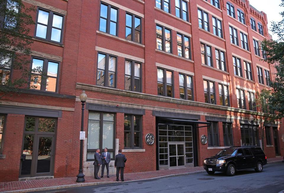 BOSTON, MA - 8/22/2016: General Electric has opened its new headquarters in Fort Point at 33-41 Farnsworth St Boston. (David L Ryan/Globe Staff Photo) SECTION: BUSINESS TOPIC 23gemove