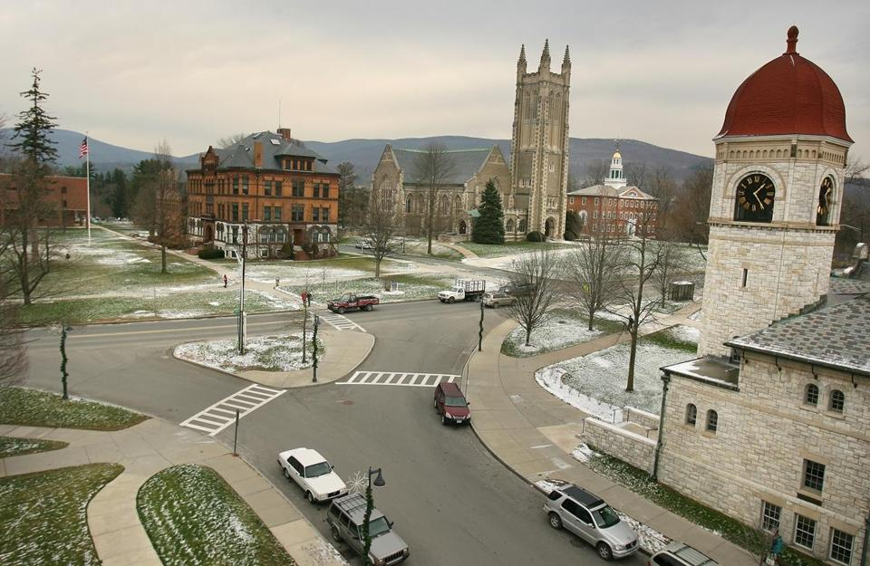Williams College is one of the schools that's dropped the SAT requirement.