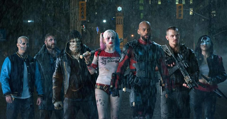 """Suicide Squad"" epitomized the year's on-screen zeitgeist."