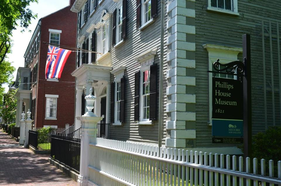 The Stephen Phillips House in Salem.