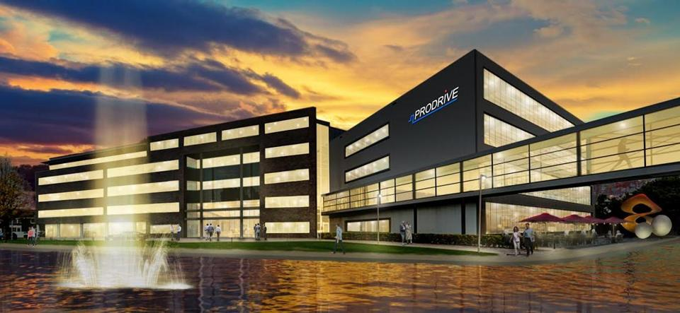 Prodrive is looking to build at least 300,000 square feet at the former South Weymouth air base.