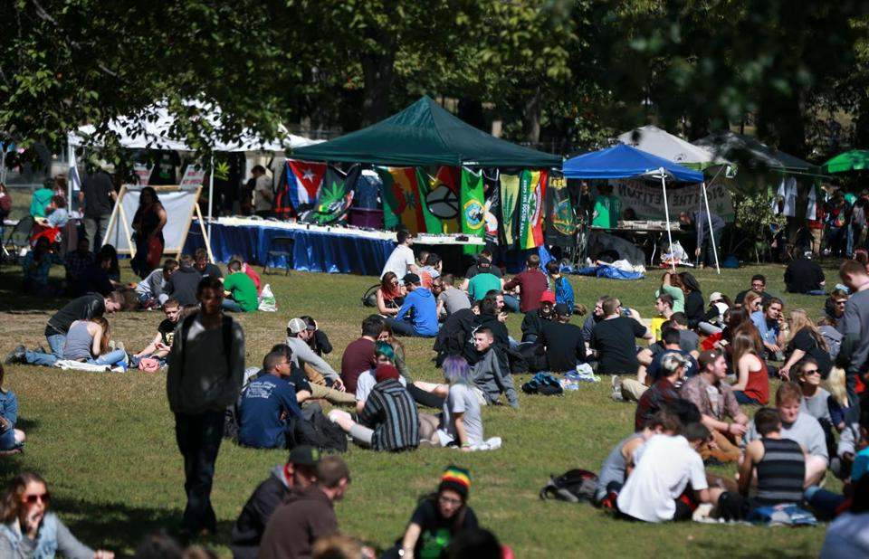 Organizers of the annual pro-marijuana legalization Freedom Rally on Boston Common say the city attempted to force its own vendors on the rally, a move that runs counter to past practices.