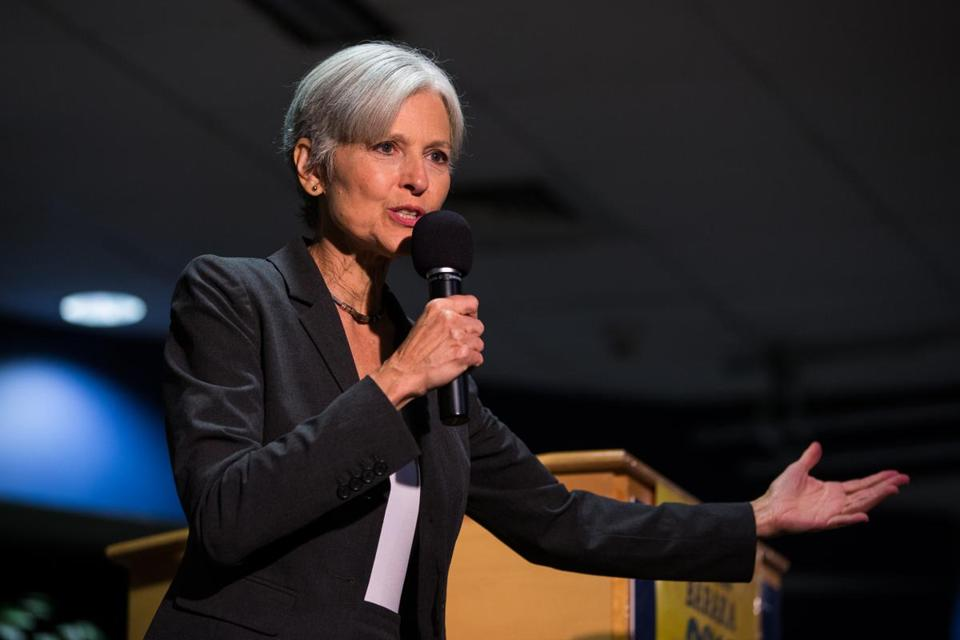 Green Party presidential candidate Jill Stein.