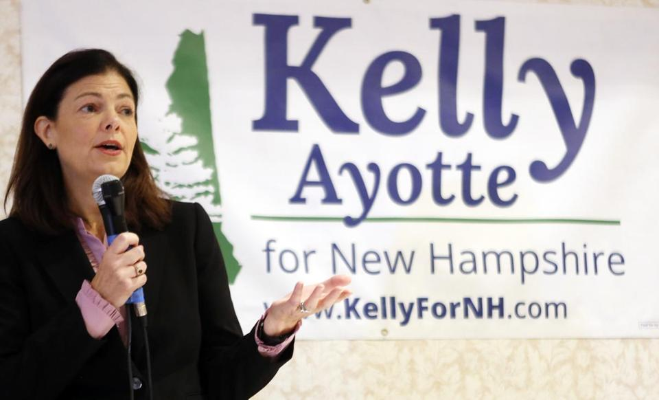 Senator Kelly Ayotte is being challenged by Governor Maggie Hassan.