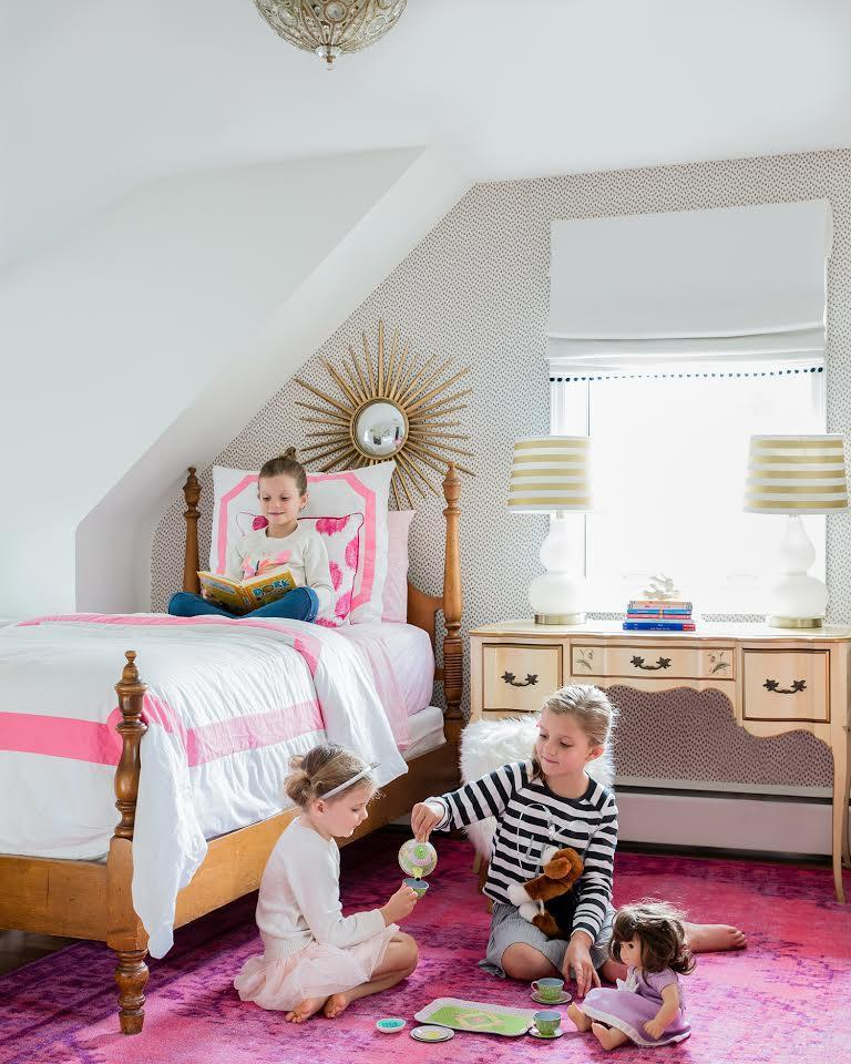 In A Milton Colonial Reinvented Bedrooms For Three Little