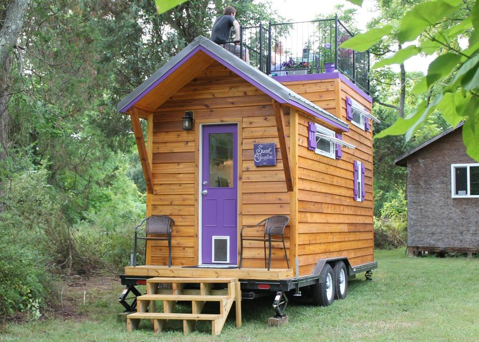 Tiny House Movement Lands In Lawrence The Boston Globe