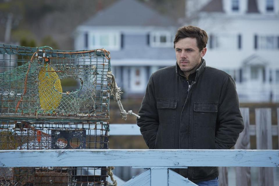 "Casey Affleck in ""Manchester by the Sea."""