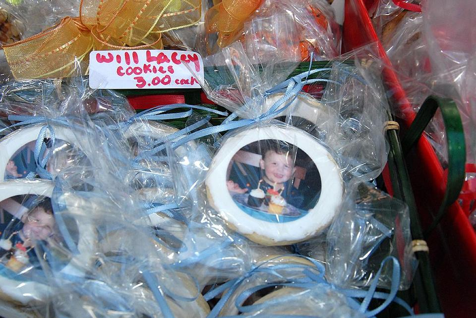Fundraising cookies --- fundraising cookies. September 23, 2007. (Lacey family)