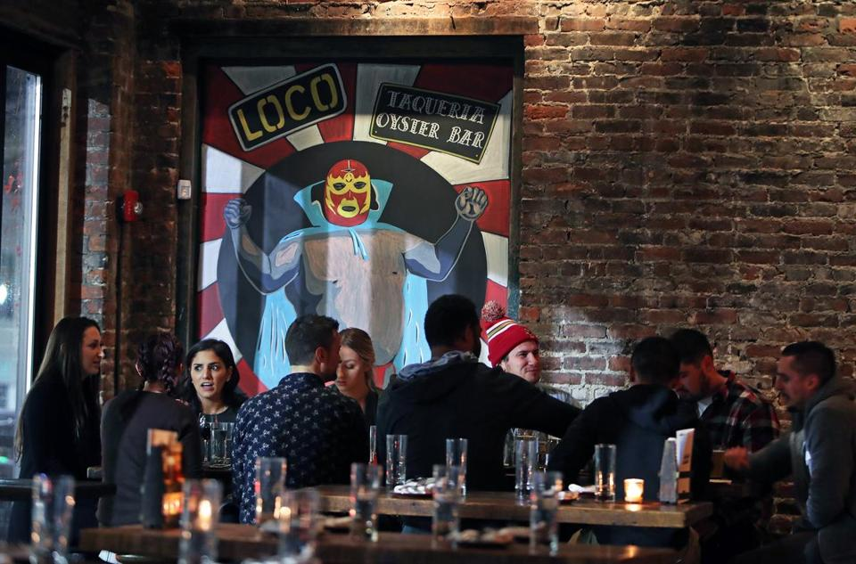 Loco on West Broadway in South Boston is one of three hot spots in the area owned by the same duo.