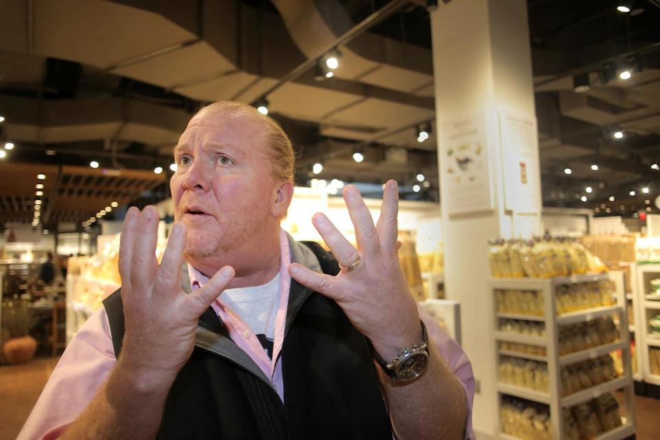 Mario Batali steps away from 'The Chew' amid allegations of sexual misconduct