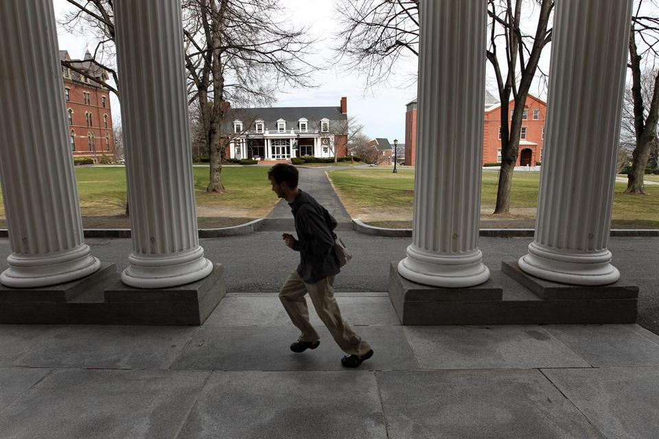 Officials at Tufts University said they are trying to reach more low-income students.