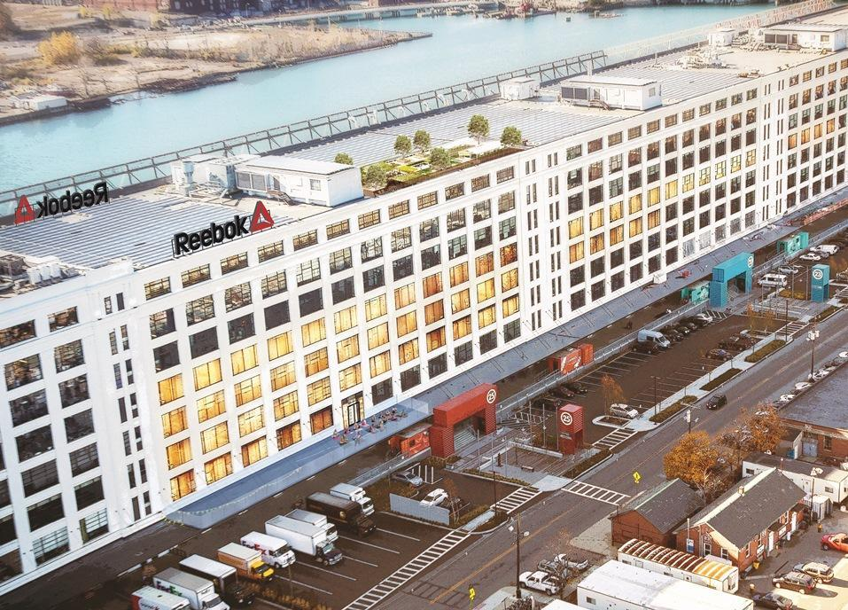 Reebook said it will relocate its headquarters from Canton to The Innovation & Design Building in Boston's Seaport District.