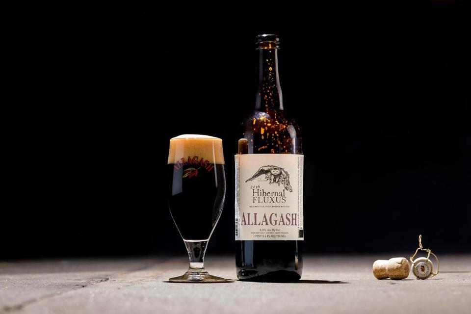 Allagash Brewing's holiday stout, Hibernal Fluxus.