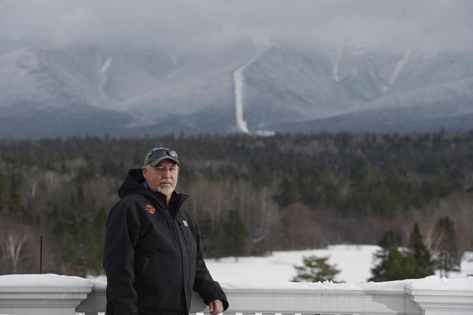 Cog Railway president Wayne Presby revealed a proposal Thursday for a 35-room hotel 1,000 feet below the summit of Mount Washington.