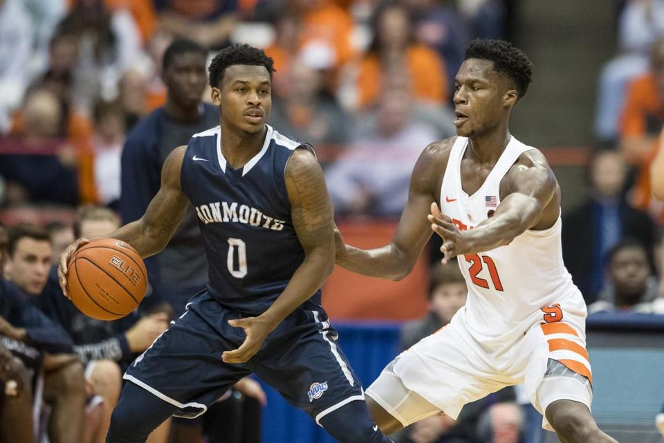 Since losing at Syracuse Nov. 18, Josh James and Monmouth have reeled off eight straight wins.