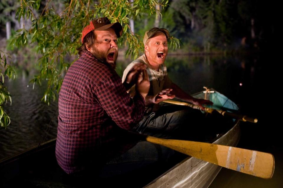 "Tyler Labine (left) and Alan Tudyk in ""Tucker and Dale vs. Evil."""