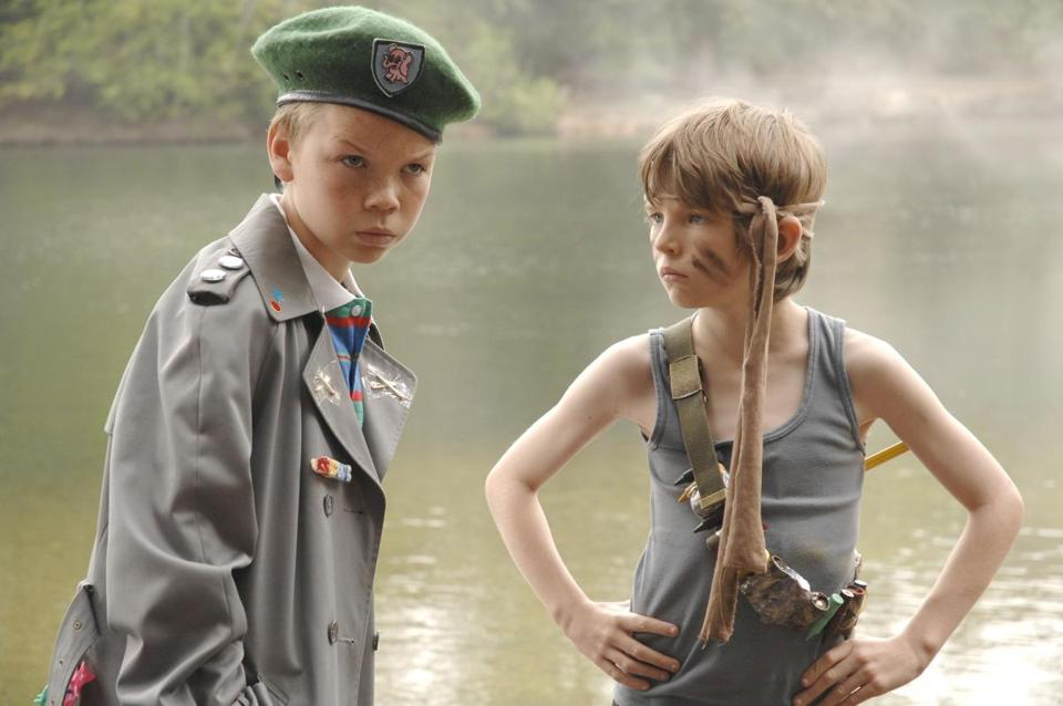 "Will Poulter (left) and Bill Milner in ""Son of Rambow,"""
