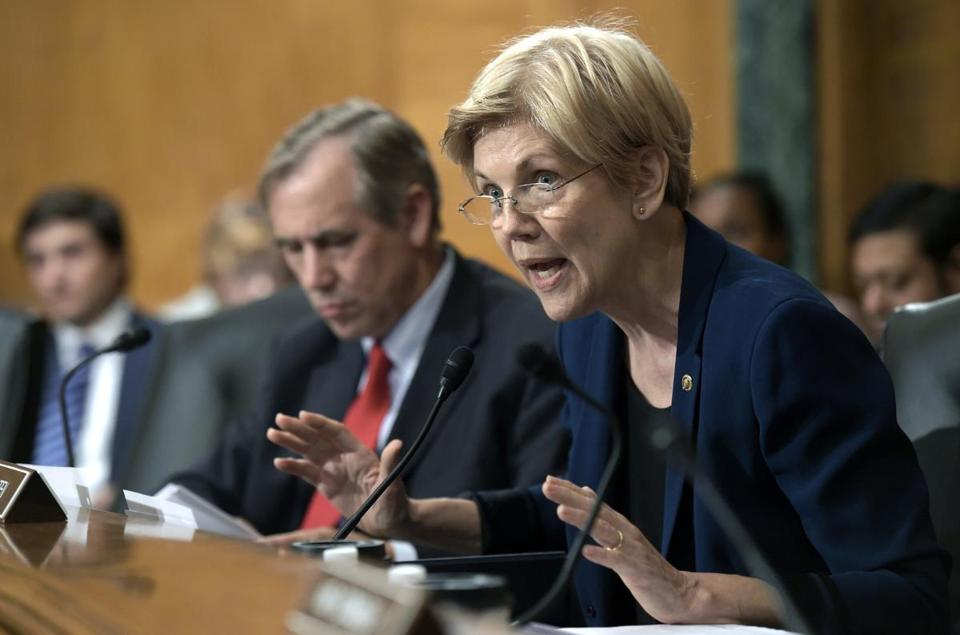 One analyst said Senator Elizabeth Warren's real goal to ousting the Wells Fargo board is to use the fake customer accounts scandal as a means of rebutting Republican calls for bank deregulation.