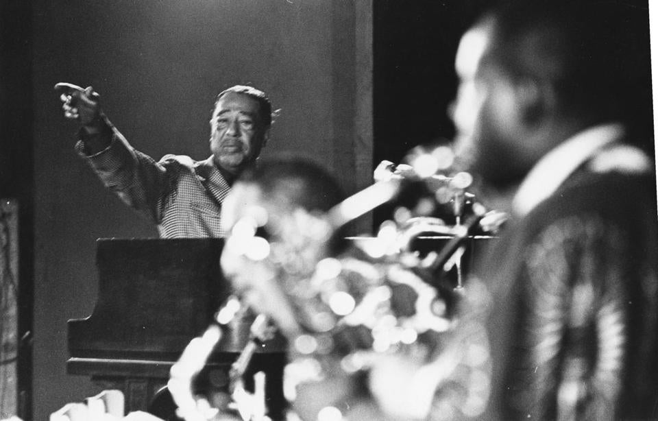 "Duke Ellington (shown in Boston in 1969) considered the sacred music ""the most important thing I have ever done."""