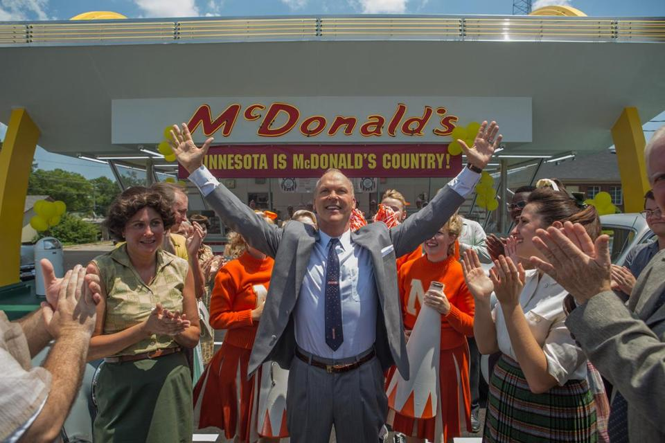 "Michael Keaton stars as Ray Kroc in ""The Founder."""