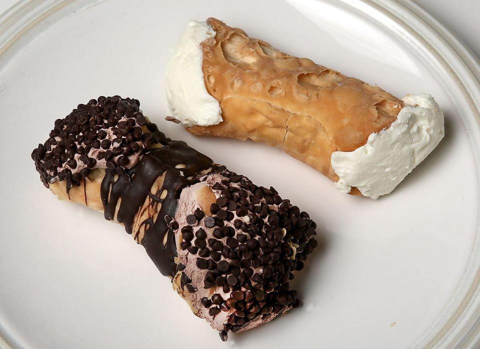 Cannolis from Mike's Pastry.