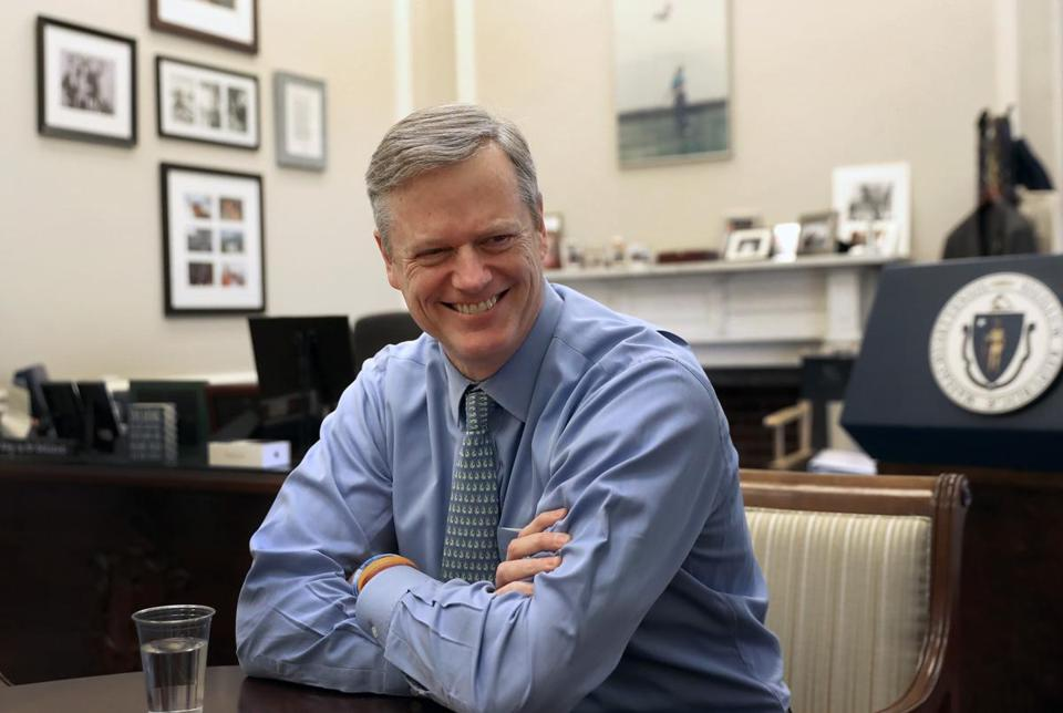 "Governor Charlie Baker said he will use the word ""compromise"" repeatedly in his speech Tuesday night."