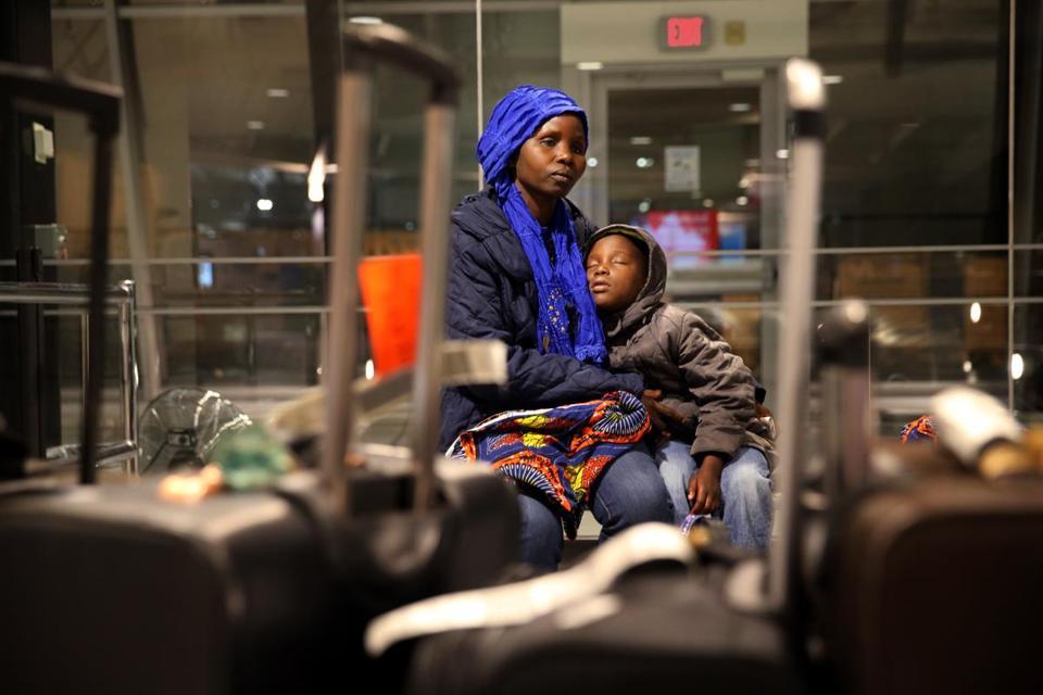 Refugee family settles in New England