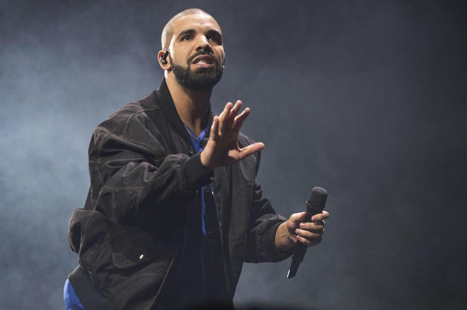 "Drake (pictured at a Toronto performance in October) unveiled the 22-song project ""More Life"" on his OVO Radio program Saturday."