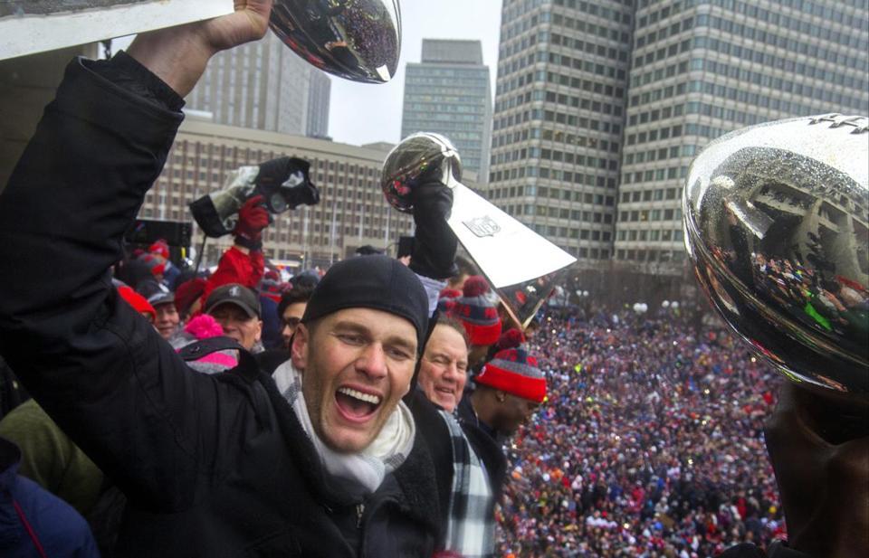 Patriots Super Bowl LI victory parade