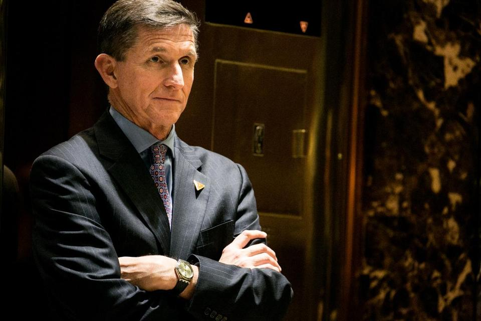 Michael Flynn, President Donald Trump's choice for national security adviser.