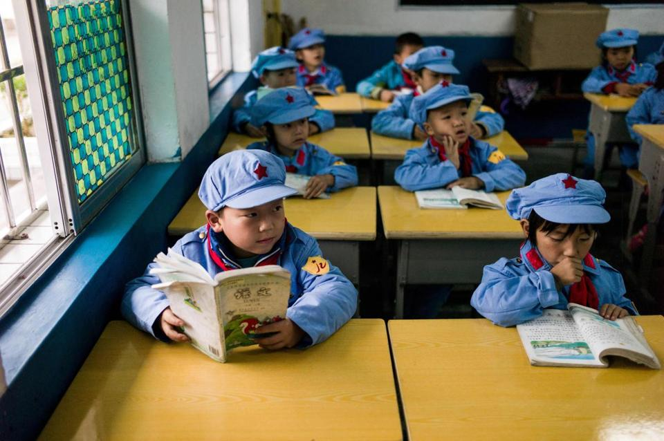 China's Red Army schools