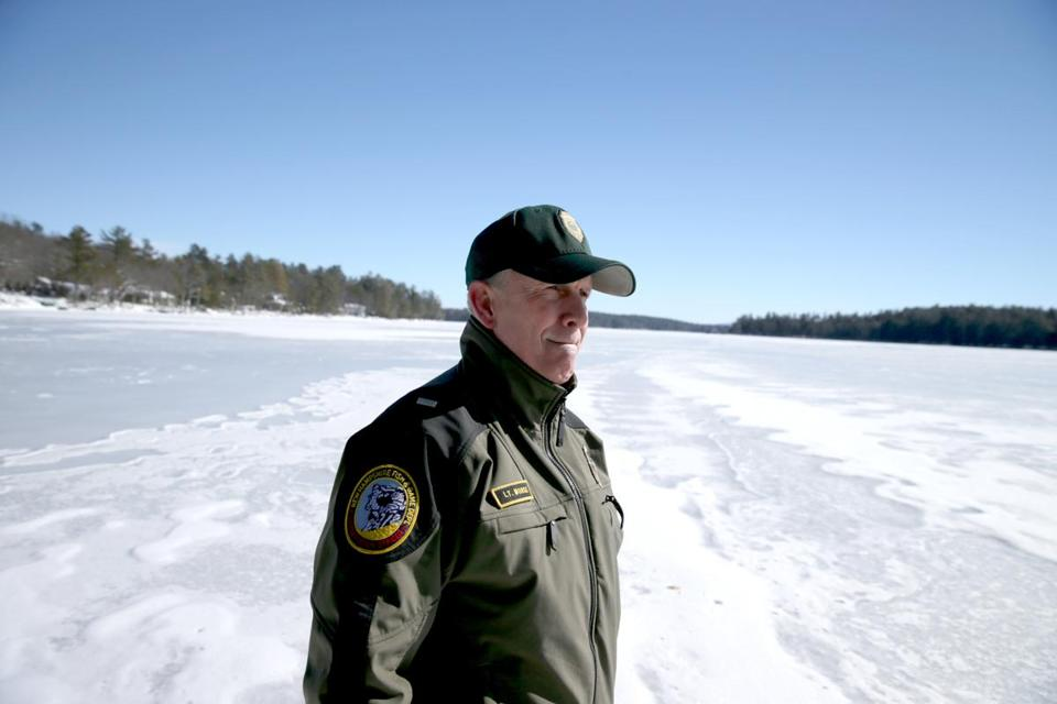 Fish and Game Lieutenant Bradley Morse has led several recent rescue efforts on the lake.