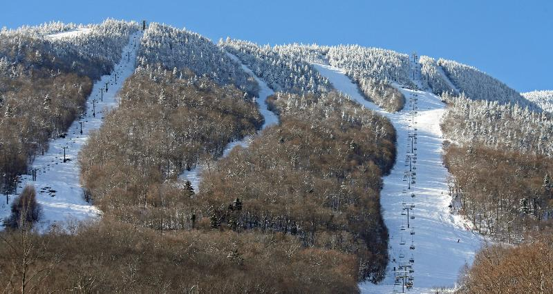 Stowe Mountain has 116 trails and 12 lifts.