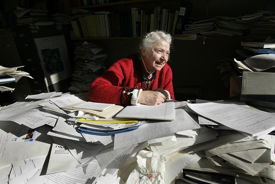 Dr. Mildred Dresselhaus in 2007.
