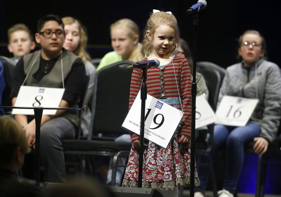 Edith Fuller is bound for the Scripps National Spelling Bee after becoming the youngest winner of a regional competition in Oklahoma.