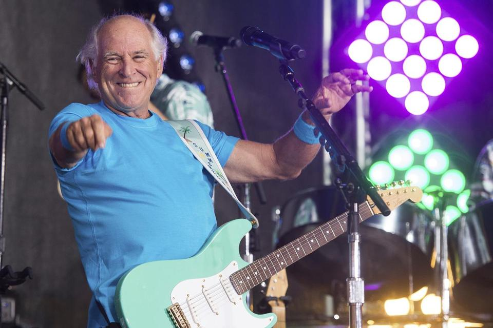 "Jimmy Buffett, shown performing on NBC's ""Today"" show in New York in 2016, is opening a retirement community in Daytona Beach, Fla."