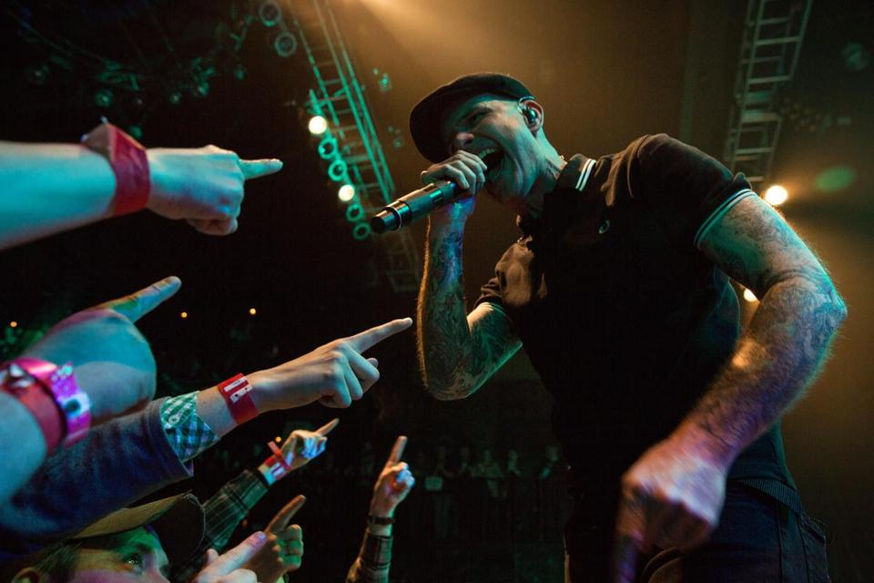 The Dropkick Murphys opened a sold-out, three-night St. Patrick's Day run at the House of Blues on Wednesday.
