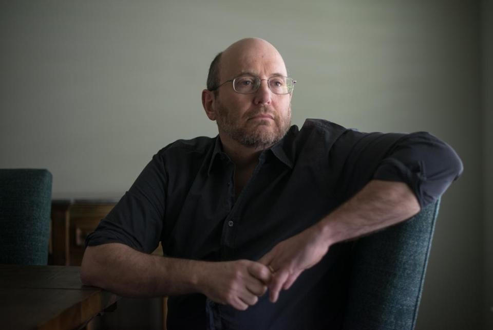 Kurt Eichenwald, in his Dallas home on Friday. He has been a prominent online critic of President Trump.
