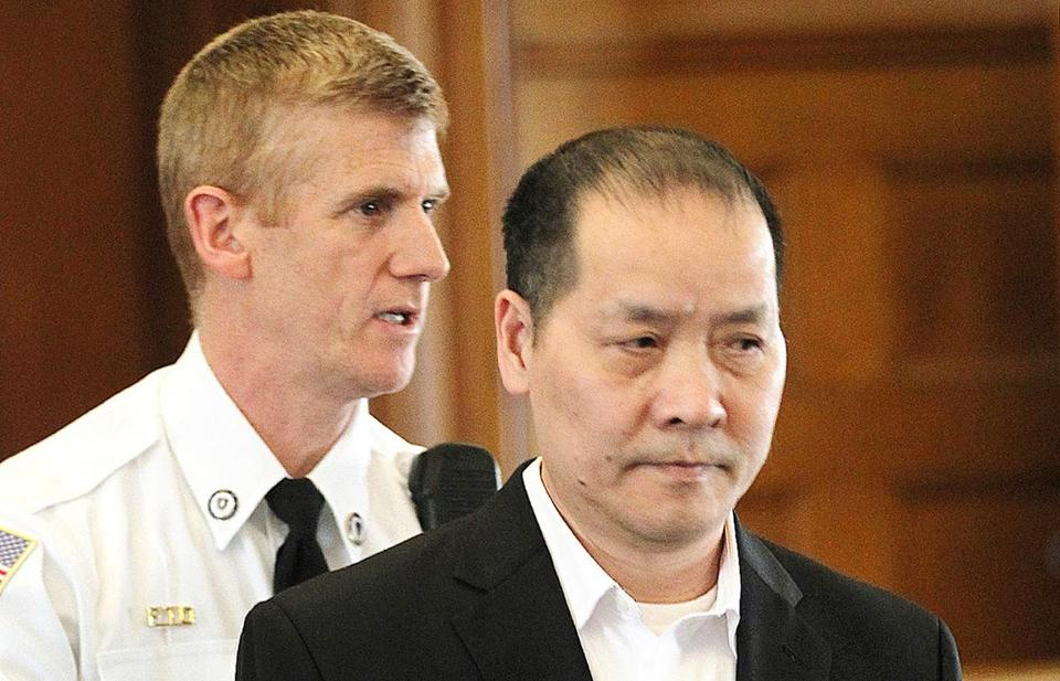 Yan Long Chow appeared in Norfolk Superior Court on March 23.