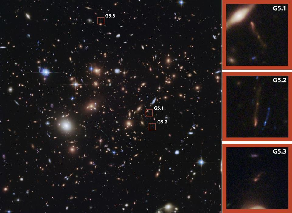 UMass researchers detailed their observations of a galaxy that can be seen from Earth only as it was 12.4 billion years ago — about 1.3 billion years after scientists believe the universe was born.