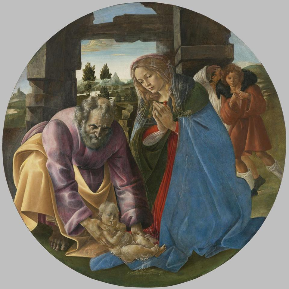 """Nativity"" by Sandro Botticelli"