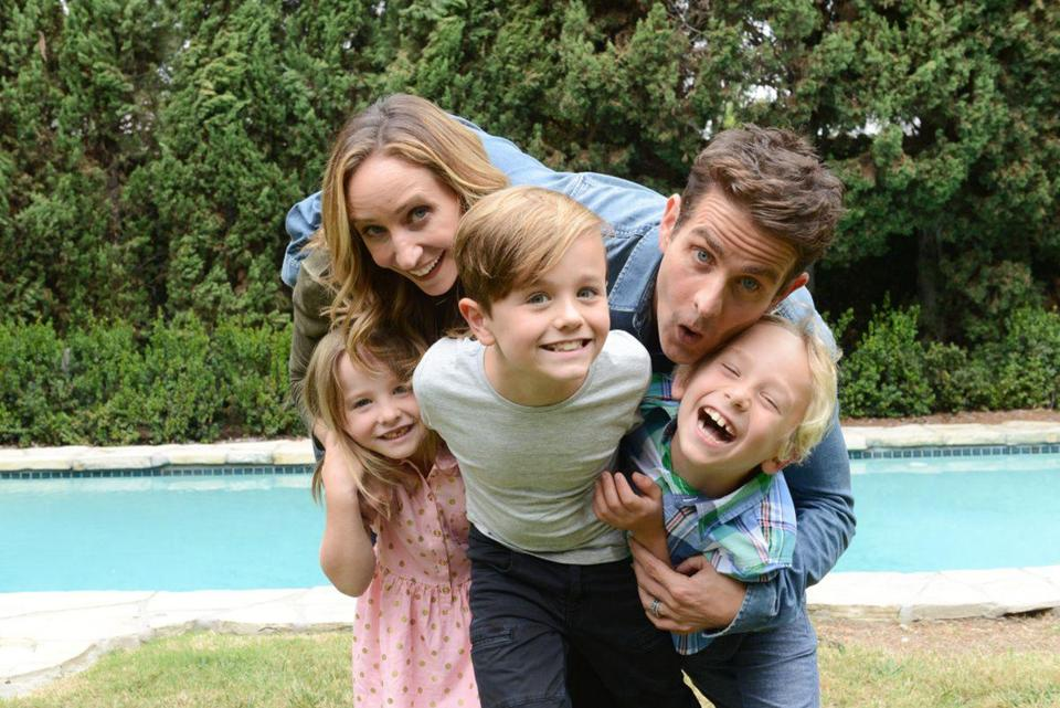 "Joey McIntyre and his family are the focus of ""The Return of the Mac."""
