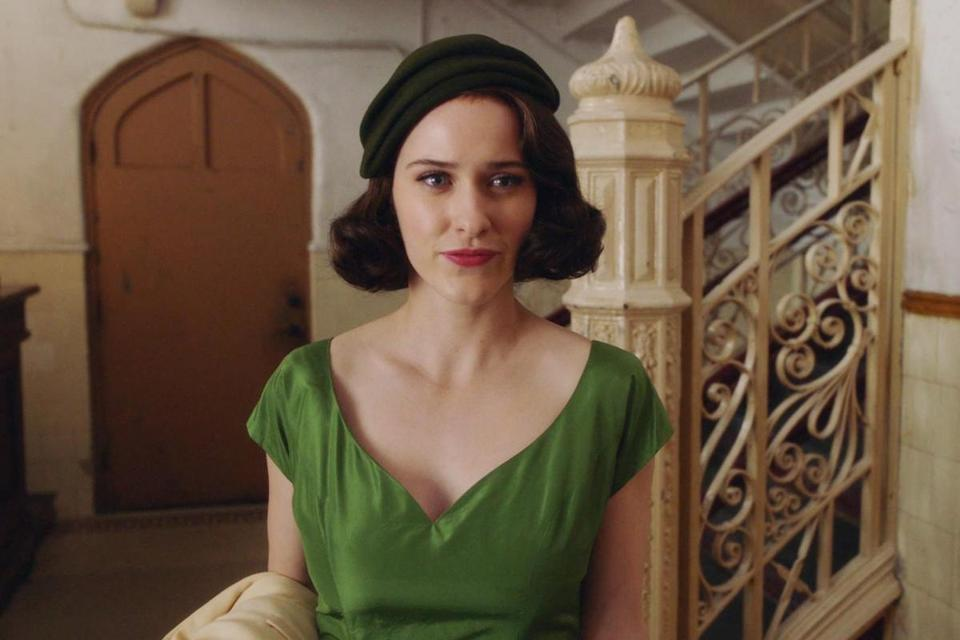"Rachel Brosnahan stars in Amy Sherman-Palladino's new series, ""The Marvelous Mrs. Maisel."""