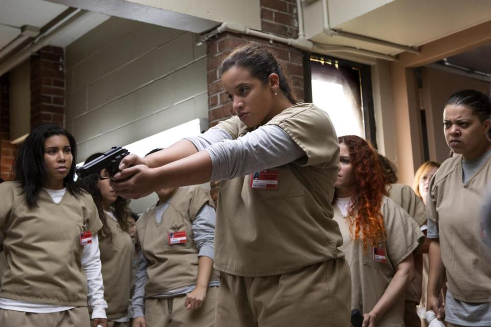 "Dascha Polanco as Daya in ""Orange Is the New Black."""