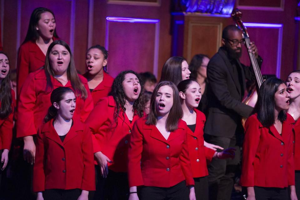 The Boston Children's Chorus will perform at the Shalin Liu center in Rockport on May 6.