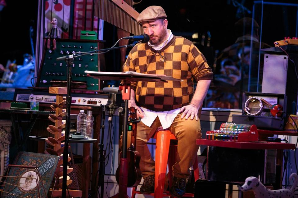 Stephin Merritt performed with the Magnetic Fields at the Berklee Performance Center Friday.