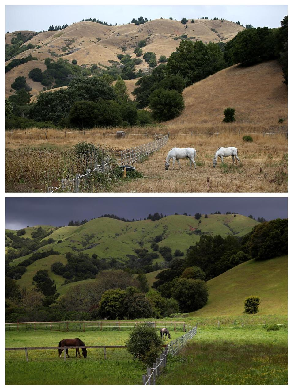California drought: then and now