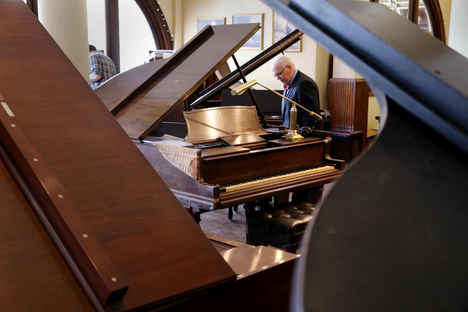 It's hardly just pianos for sale this weekend: There will be everything from floor lamps to Cold War-era first aid kits . .