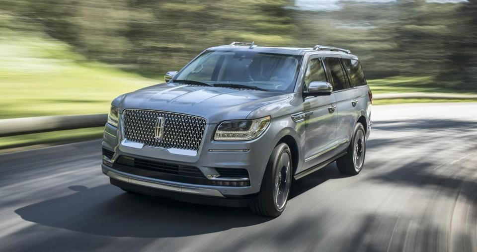 "The 2018 Lincoln Navigator has been designed for ""family time."""