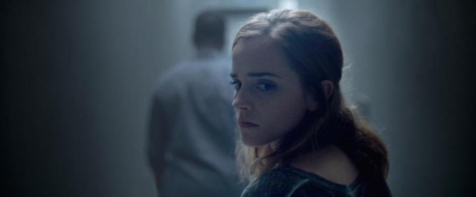 "Emma Watson stars as a twentysomething who broadcasts her life around the clock in ""The Circle."""